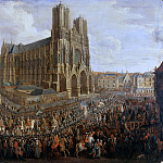 Château de Versailles - Pierre-Denis Martin -- Cavalcade of Louis XV after his coronation, 26 October 1722