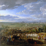 Adam Frans van der Meulen -- Solemn entry of Louis XIV and Queen Maria-Theresa at Arras, 30 July 1667, Château de Versailles