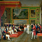 Château de Versailles - Francois-Guillaume Menage -- Wedding of Prince Eugene of Amelia Bavaria in Munich January 13, 1806