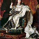 Hyacinthe Rigaud -- Louis XV as a Child, Château de Versailles