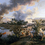 Louis Francois Lejeune -- Battle of the Pyramids, 21 July 1798, Château de Versailles