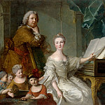 Jean-Marc Nattier and his family, Jean Marc Nattier