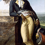 Anne-Louis Girodet de Roucy-Trioson -- Portrait of Citizen Belley , Château de Versailles