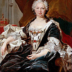 Louis Michel van Loo -- Elisabeth Farnese, Queen of Spain , Château de Versailles