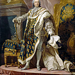 Louis Michel van Loo -- Louis XV, King of France and Navarre , Château de Versailles