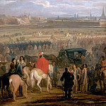 Château de Versailles - Adam Frans van der Meulen -- Surrender of the citadel at Cambrai, 18 April 1677
