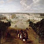 Pierre-Denis Martin -- View of the Grand Trianon from the Avenue, Château de Versailles