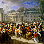 Charles Meynier -- Entry of Napoleon into Berlin, 27 October 1806, Château de Versailles
