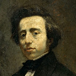 Château de Versailles - Attributed to Thomas Couture -- Frederic Chopin (1810-1849)
