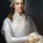 Château de Versailles - Jean-Jacques Hauer -- Charlotte Corday, after being condemned to death by the revolutionary tribunal on July 17, 1793