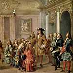 Château de Versailles - François Marot -- Institution of the Military Order of St. Louis, 10 May 1695