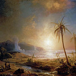 Château de Versailles - Théodore Gudin -- Naval Combat before the island of Martinique, 21 August 1674-the Dutch Fleet under the Command of Admiral Ruyter is pushed back by the Island's Inhabitants