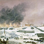 Jean Antoine Simeon Fort -- Battle of Eylau, attack on the cemetery, July 7, 1807, Château de Versailles