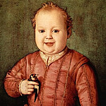 Alessandro Botticelli - Angelo Bronzino Portrait of Giovanni de Medici as a Child