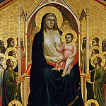 Giotto - The Ognissanti Madonna