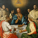 Luca Signorelli - Pontormo - Supper at Emmaus