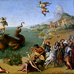Piero di Cosimo - Andromeda freed by Perseus