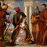 Jan Brueghel the Younger - Paolo Veronese - Martyrdom of Saint Justina