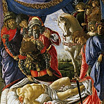 Uffizi - Sandro Botticelli - The Discovery of Holofernes Corpse Judith Returns from the Enemy Camp at Bethulia