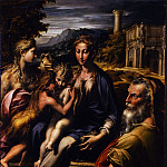 Uffizi - Parmigianino - Madonna with the long neck