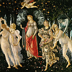 Jan Brueghel The Elder - Sandro Botticelli - La Primavera (Spring)