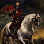Equestrian portrait of the Emperor Charles V, Anthony Van Dyck