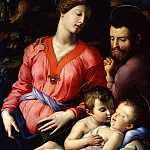 Uffizi - Bronzino - The Panciatichi Holy Family