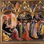 Luca Signorelli - Don Lorenzo Monaco Adoration of the Magi
