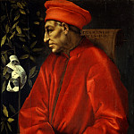 Uffizi - Pontormo - Portrait of Cosimo de Medici the Elder