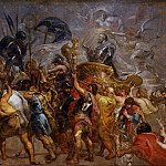 Уффици - Pieter Paul Rubens - Triumphal entry of Henri IV in Paris