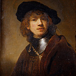 Harmensz van Rijn Rembrandt - Portrait of a Young Man
