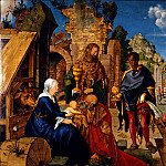 Adoration of the Magi, Albrecht Dürer