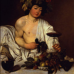 Caravaggio - The adolescent Bacchus