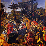 Francois Clouet - Filippino Lippi - Adoration of the Magi