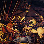 Uffizi - Paolo Uccello - Battle of San Romano