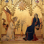 Jean Marc Nattier - Simone Martini e Lippo Memmi - Annunciation