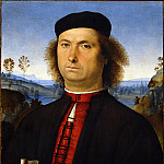 Guido Reni - Perugino - Portrait of Francesco delle Opere