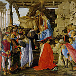 Uffizi - Sandro Botticelli - Adoration of the Magi