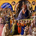 Luca Signorelli - Filippo Lippi - Coronation of the Virgin