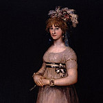 Uffizi - Francisco de Goya - Portrait of the Countess of Chinchon