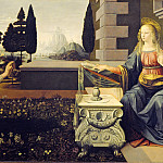 Pieter Brueghel the Younger - Leonardo da Vinci - Annunciation