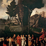 Alessandro Botticelli - The Judgement of Salomon (Giorgione)