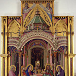 Albrecht Dürer - Ambrogio Lorenzetti - Presentation of Jesus in the Temple