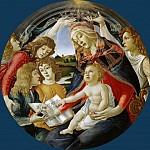 Pietro Perugino - Sandro Botticelli - Madonna of the Magnificat