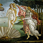 Jan Brueghel The Elder - Sandro Botticelli - The Birth of Venus