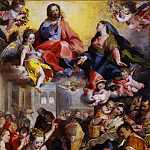 Jan Brueghel the Younger - Federico Barocci - Madonna of the people