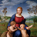 Giotto di Bondone - Raffaello (Raffaello Sanzio) - Madonna of the Goldfinch