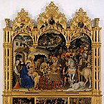 Alessandro Allori - Gentile da Fabriano - Adoration of the Magi