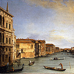 Uffizi - Canaletto - View of the Grand Canal