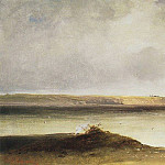 Volga. Dali. The first half of 1870, Alexey Kondratievich Savrasov